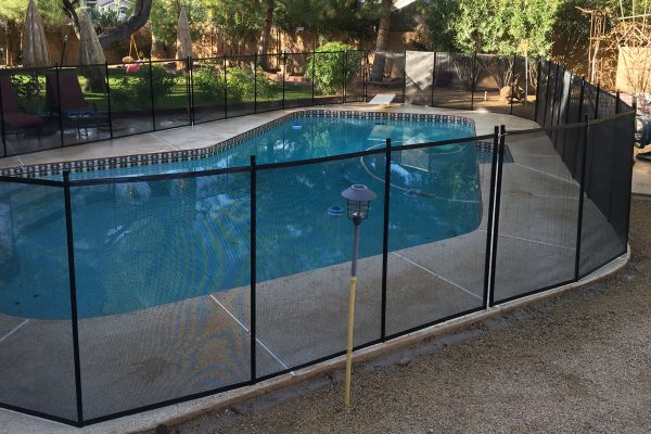 near drowning while installing paradise valley pool fence - Pool Fence Installation